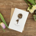 Flower Mothes day card10