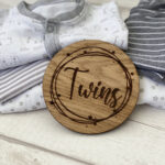 Twins Baby Announcement1